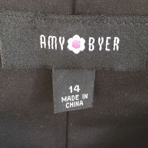 Amy Byer Dresses - NWT Amy Byer Girls' S 14 dress black gray and gold